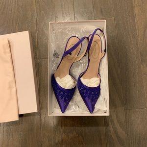 New SJP sling back heels.
